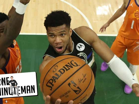 Giannis Drops 50 Then Orders Up Another 50 Piece | One Minute Man