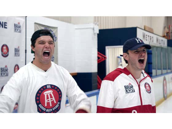 Video Proof That Barstool Is Home to the World's Worst Hockey Players
