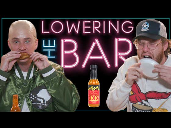 Barstool Attempts The Last Dab Hot One's Challenge