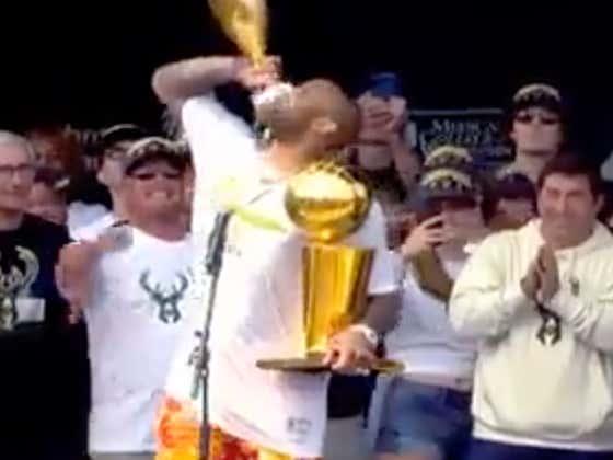 Congrats To PJ Tucker On Winning The Bucks Parade Today