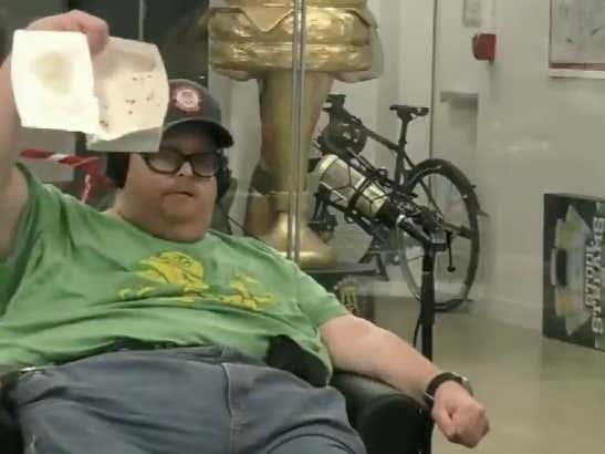 Did Frank The Tank Cheat At His 50 Nugget Challenge?!