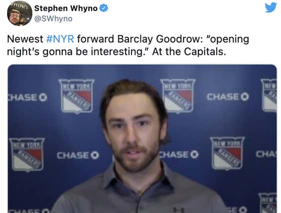 The New York Rangers Are Obsessed With The Washington Capitals And Frankly It Is Cute As Hell