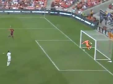 You Have No Choice But To Fight Your Goalie If He Gives Up This Horrific Of An Own Goal