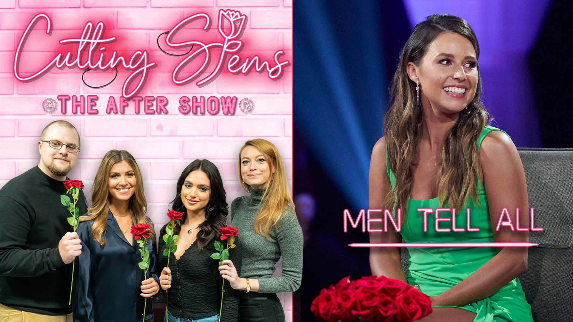 LIVE Reaction to The Bachelorette Men Tell All: Cutting Stems