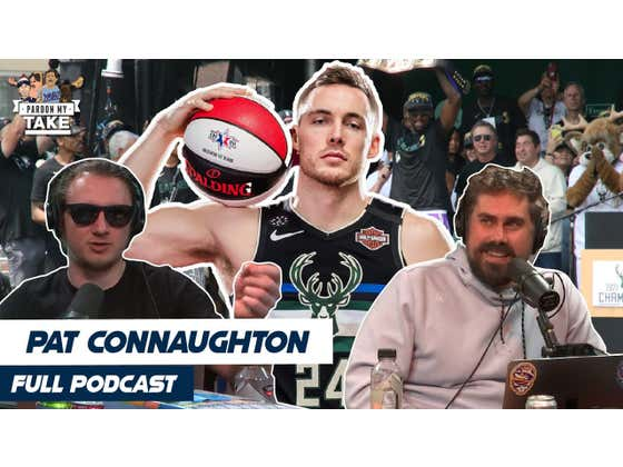 FULL VIDEO EPISODE: NBA Champion Pat Connaughton + Mt Rushmore Of Sports We Could Medal In (Maybe)