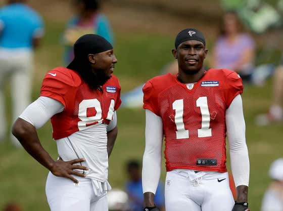 Julio Jones and Roddy White Are Being Sued for Fraud and Money Laundering After Allegedly Selling Hundreds of Pounds of Cannabis on the Black Market