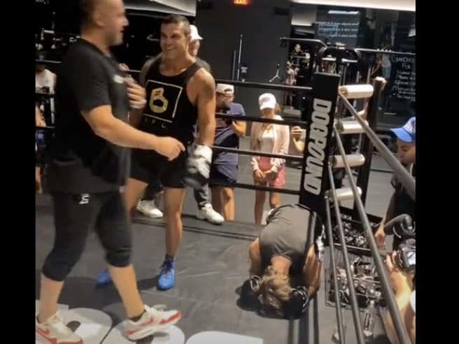 Bryce Hall Got His Ass Beat By Former UFC Champion Vitor Belfort