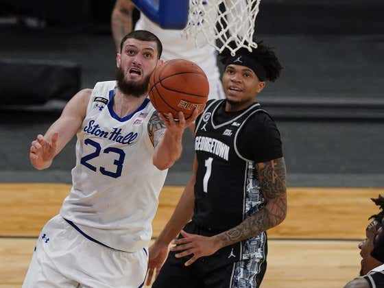 Former Seton Hall Player Sandro Mamukelashvili Says the Big East Is Better Than Both the SEC and ACC