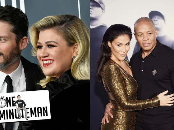 Dr. Dre and Kelly Clarkson Have HUGE Monthly Alimony Payments | One Minute Man