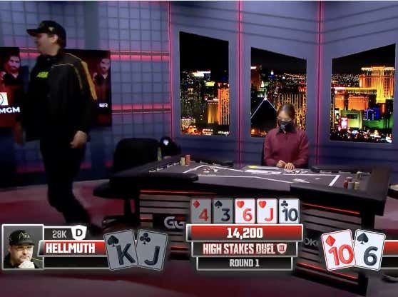 There's Nothing Better Than A Good Ol' Fashioned Phil Hellmuth Blow Up