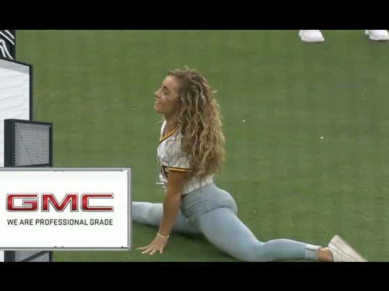 Demi Bagby Has Set The Bar For All First Pitches Moving Forward