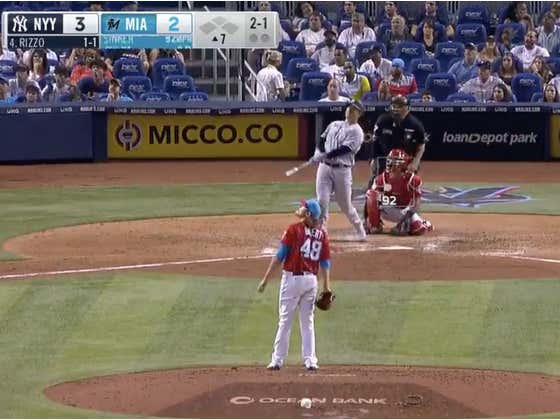 Anthony Rizzo Refuses To Stop Hitting Moon Bombs For The Yankees