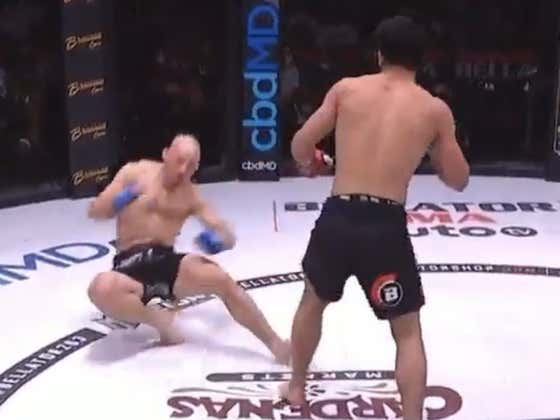 One Of Khabib's Proteges Just Delivered A VICIOUS Knockout (He's Still Undefeated As A Coach)