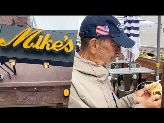 My Dad's Chocolate Chip Cookie Review - Mike's Pastry (Boston, MA)