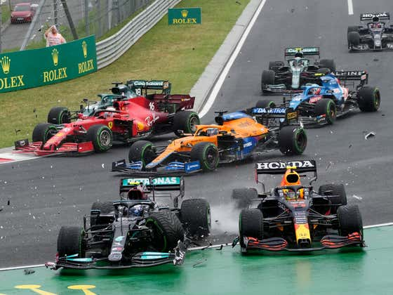 We've Got Complete CHAOS in this Morning's F1 Race and It's Just the Start