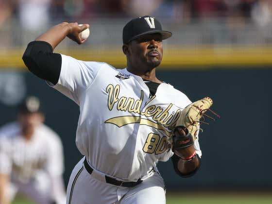 Kumar Rocker Will Not Go Back to Vanderbilt After Failing to Sign With the Mets