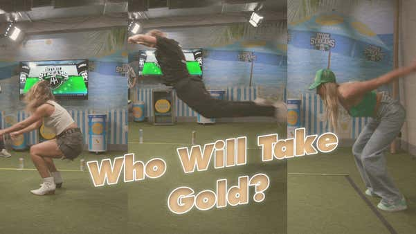 Barstool Olympic Broad Jump Competition Part 2