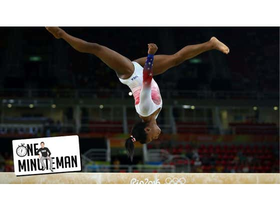 So Now Simone Biles WILL Compete In The Olympics After All | One Minute Man