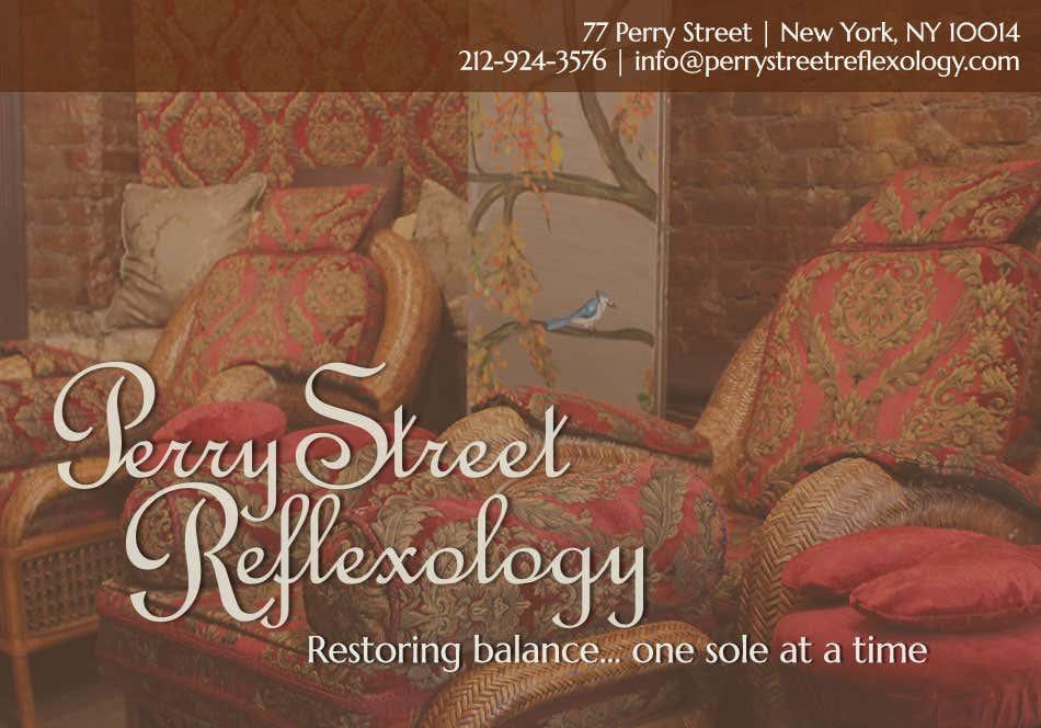 Perry Street Reflexology