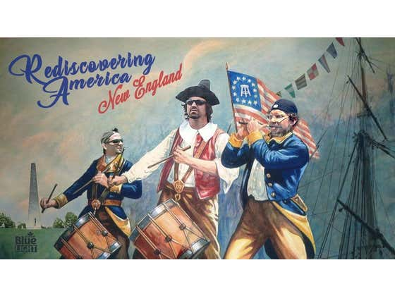 Rediscovering America: New England