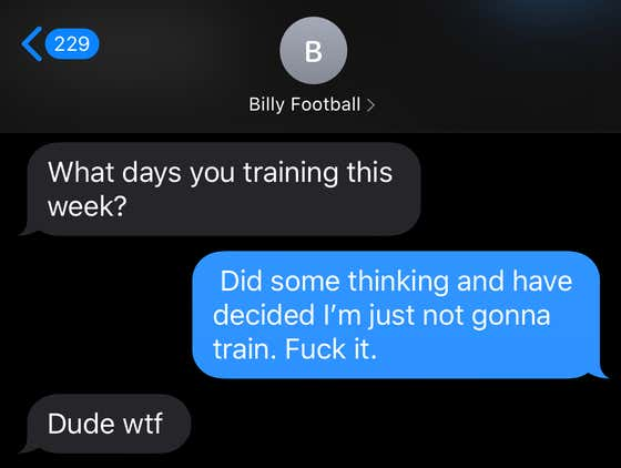 SHOCKING NEWS: Leaked Text Messages Indicate Chef Donny WILL NOT BE TRAINING for his Upcoming Rough n Rowdy Fight