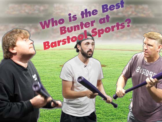"""Barstool Sports """"Olympic"""" Bunting Competition"""