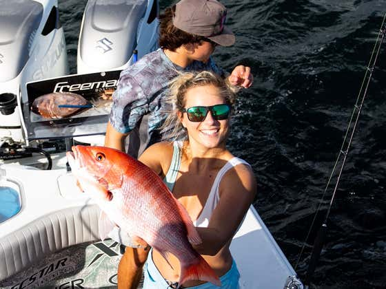 Catching Red Snapper and Turning it into Fresh Ceviche