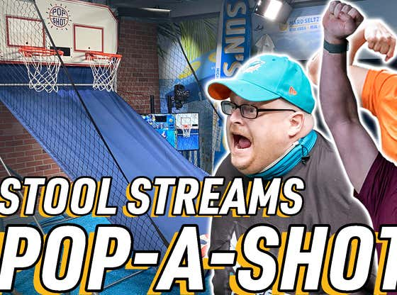 Stool Streams Replay: Barstool Sports Olympic Pop-A-Shot Competition