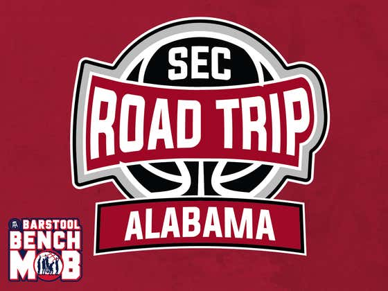 Roll Tide! The Barstool Bench Mob Heads to Tuscaloosa For A Day With The Alabama Men's Basketball Team