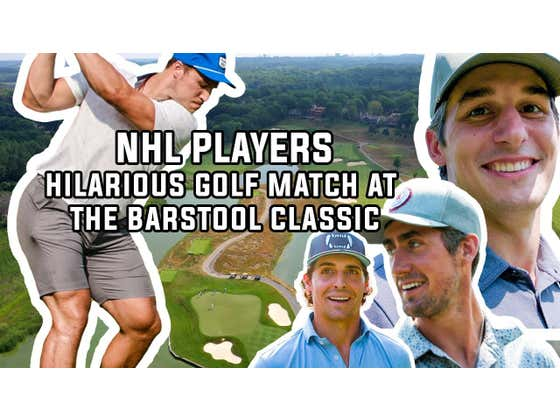 I Played In The Barstool Classic with Anders Lee, Brock Nelson, Brady Skjei and Vinni Lettieri