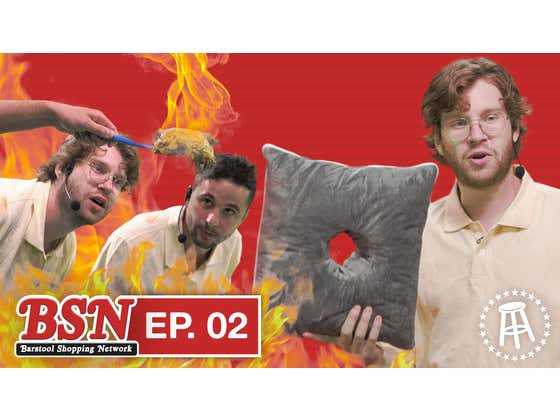 Welcome Back to the Barstool Shopping Network with Nick & KB