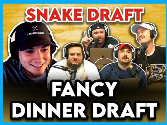 The Fancy Dinner Snake Draft Was So Much Harder Than Anyone Wants To Admit