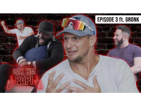 One Couch, Seven Championships: A Conversation With Rob Gronkowski