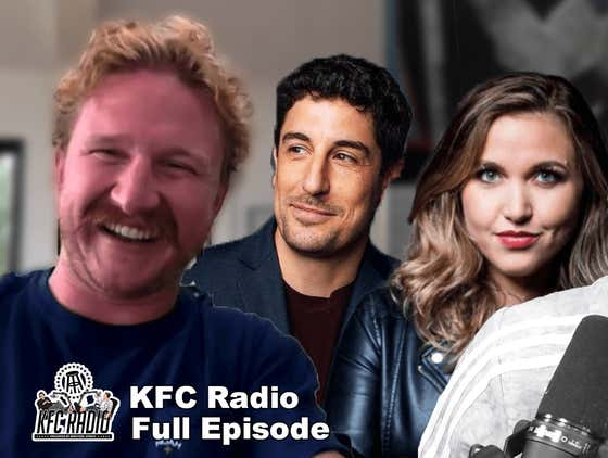 Wipe My A** or Do My Dishes Ft. Jason Biggs and Taylor Tomlinson | KFC Radio Full Episode