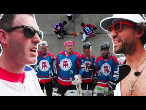 Rear Admiral Retired From Hockey At 4am So I Had To Step In And Play For The Barstool Team