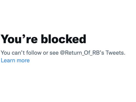Rico blocked me on Twitter and my life is ruined.