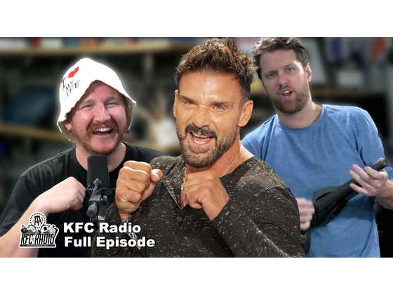 KFC Does a Show With a Soft Headed Human Ft. Frank Grillo