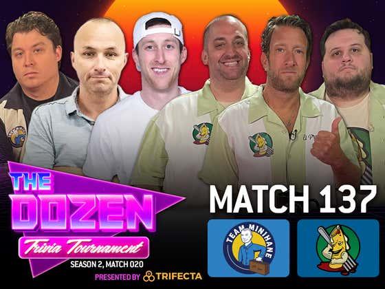Dave Portnoy Makes Trivia Return Vs. Rico & Team Minihane (The Dozen pres. by Trifecta, Match 137)