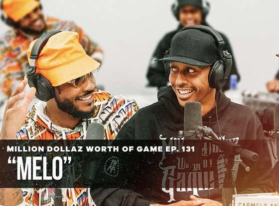 Carmelo Anthony Learned How To Watch Game Tape From Michael Jordan