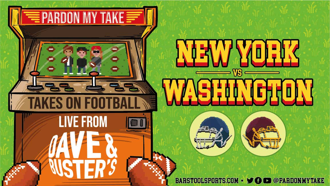 PMT is LIVE from Dave and Busters for Thursday Night Football