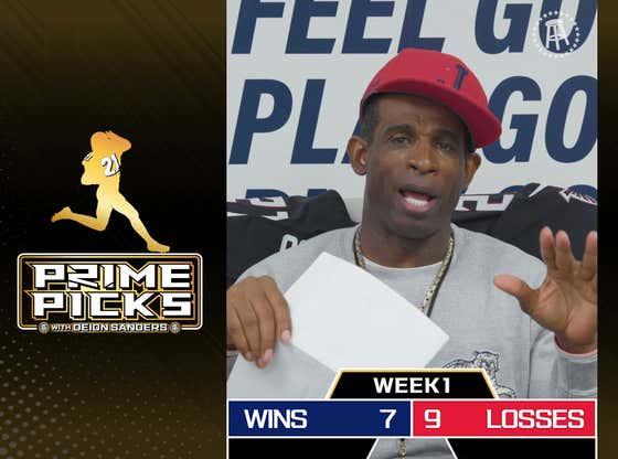 PRIME PICKS | NFL Week 2