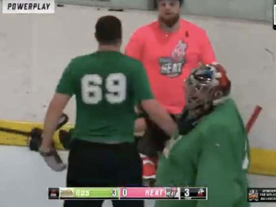 Death, Taxes, And The Guy Wearing #69 At A Men's League Hockey Game Getting Into A Fight