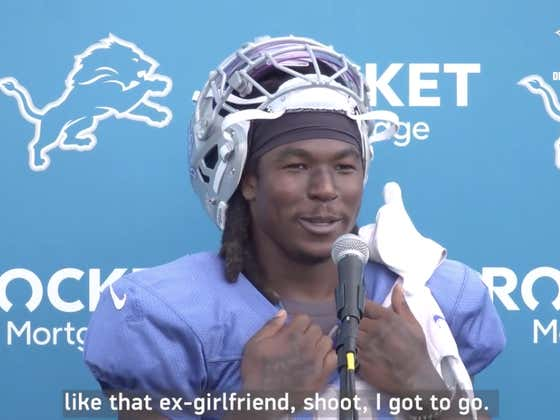 Running Back Jamaal Williams Describing The Packers As His Ex-Girlfriend And The Lions Being His Rebound Is Why He's a National Treasure