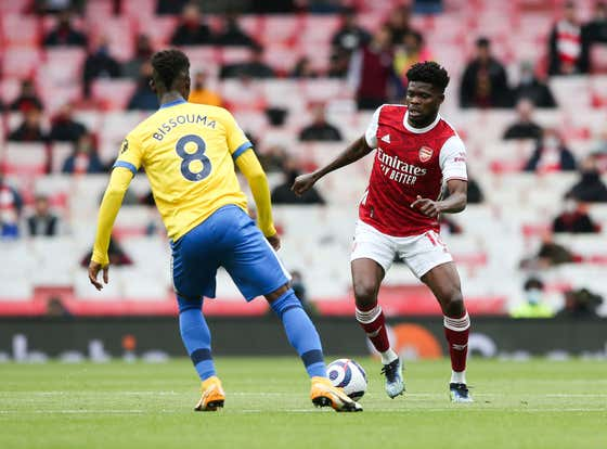 Thomas Partey A Doubt As Arsenal Head Into This Weekends Match Up Against Burnley