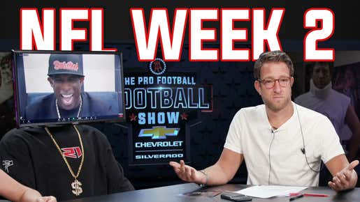 The Pro Football Football Show - Week 2 presented by Chevy Silverado