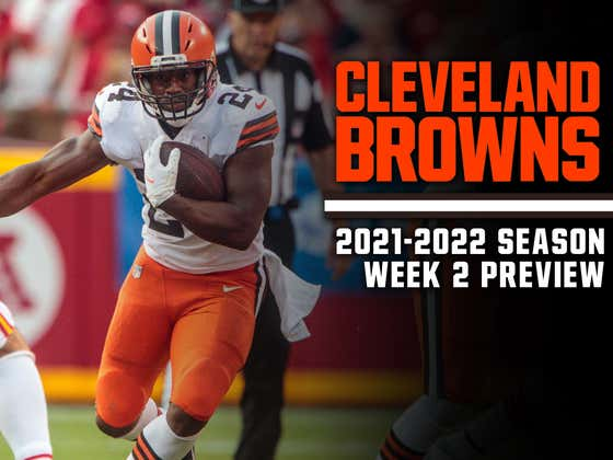 The Browns Are Actually Good For Once, But They're 0-1 Again For The 21st Time Since 1999