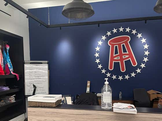 I Need To Camp Out In The Barstool Office...