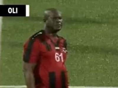 The 60-Year Old VP Of Suriname Lives Out The Dream - Makes Himself Captain Of The Soccer Club He Owns, Plays A Real Match