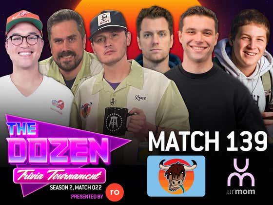 Undefeated Trivia Battle Between Big Cat, Rone, & KFC (The Dozen pres. by Roman, Match 139)