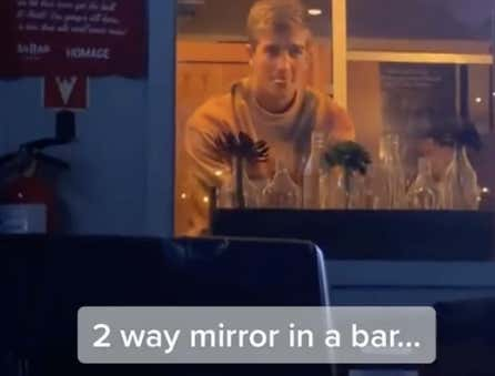 Super Creepy Bar Installs A Two-Way Mirror So You Can Watch People Go To The Bathroom